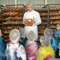 Фотоотчет об экскурсии на хлебозавод