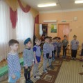 Праздник, посвященный 23 февраля, «А ну-ка, мальчики!» (средняя и старшая группы)