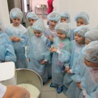 Фотоотчёт «Экскурсия на пищеблок детского сада»