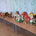 Фотоотчёт о посещении выставки Ермиловской игрушки.