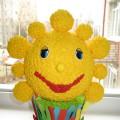 Поделка к конкурсу «Солнце в ладошках»