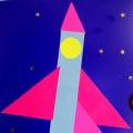 «Жил да был звездочет». Конспект НОД по конструированию