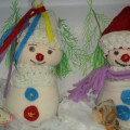 Мастер-класс по изготовлению снеговиков из носочков «Друзья снеговики»