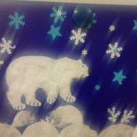 Конспект образовательной деятельности в нетрадиционной технике аппликации «Белый медведь» в старшей группе