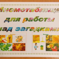 Иллюстрированный альбом «Мнемотаблицы для работы над загадками» для дошкольников