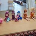 Фотоотчёт «Вязаные наряды для кукол»