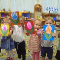 Детский мастер-класс по изготовлению открытки «Мамочке любимой»