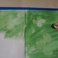 Конспект занятия «Бабочки на цветах»
