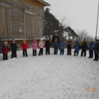 Фотоотчёт о празднике «Масленица» в детском саду на улице для всех групп