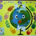 Мастер-класс: изготовление стенгазеты «Права ребенка»