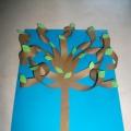 Мастер-класс «Поделка из цветной бумаги «Дерево»