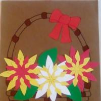 Мастер-класс по изготовлению поделки «Корзина с цветами»