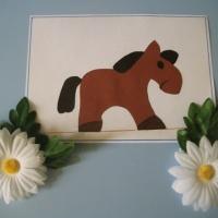 Мастер-класс по изготовлению поделки из цветной бумаги «Лошадка»
