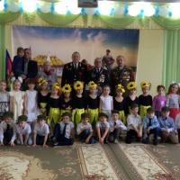 Фотоотчёт о проведении праздника в детском саду «Будущие наши защитники»