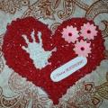 Открытки сердцем ко дню матери