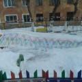 Фотоотчет снежных построек