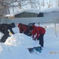 Фотоотчёт «Зимние поделки на нашем участке»