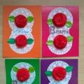 Мастер-класс «Открытка с 8 Марта для мамы»