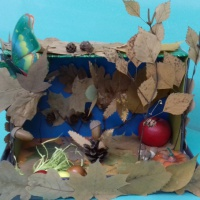 Фотоотчет выставки поделок «Щедрая осень» из природного материала, овощей и фруктов