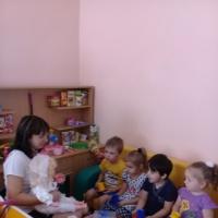 Конспект занятия «День рождения куклы Кати»