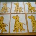 Конспект ООД по познавательному развитию «Жирафы» с элементами нетрадиционного рисования в младшем дошкольном возрасте