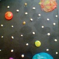 Пластилинография «Космическое путешествие»