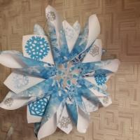 Мастер-класс по изготовлению новогодней снежинки