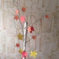 Мастер-класс «Осеннее дерево»