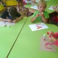 Мастер-класс коллективной поделки из цветной бумаги «Цветочная поляна»