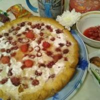 Рецепт «Пирог с малинкой»