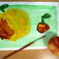 Перспективное планирование дополнительной образовательной программы «В гостях у краски»