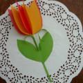 Мастер-класс «Тюльпан для мамочки»