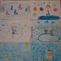 Фотоотчет проекта «Зимние забавы» в подготовительной группе