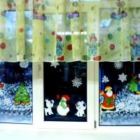Новогоднее украшение групповой комнаты в детском саду