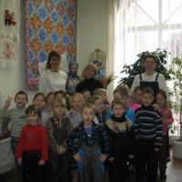 Фотоотчёт о посещении выставки «Из бабушкиного сундука»
