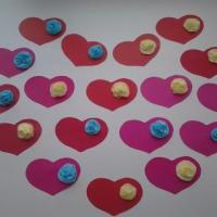 Мастер-класс «Валентинки к празднику» (вторая младшая группа)