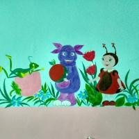 Художественное оформление в младшей группе детского сада