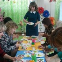Мастер-класс для воспитателей «Оформление одноразовой тарелочки в технике декупаж»