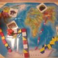 Фотоотчет комплексного занятия по географии и ФЭМП и использованием логико-математических пособий для детей от 3-х лет