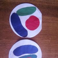 Фотоотчет аппликации «Овощи на тарелке»