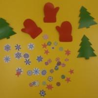 Фотоотчет «Новогодние поделки на ёлочку»