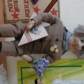 Ветеран. Кукла из капрона