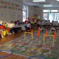 Малые зимние олимпийские игры в старших группах «Мы— олимпийцы!»