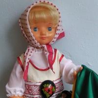 Фоторассказ «Моя коллекция кукол». Кукла Настенька