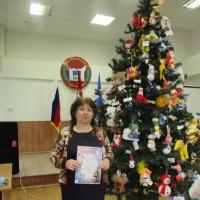 Фотоотчет «Поделка на городской конкурс «Новогодняя игрушка»