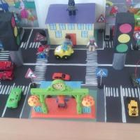 Макет «Правила дорожного движения» для детей