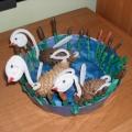 «Лебединое озеро» своими руками