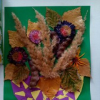 Конкурс осенних поделок из природного материала «Дары осени»