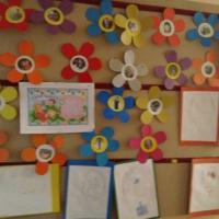 Аппликация «Цветы в подарок маме» (вторая младшая группа)
