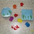 Дидактическая игра «Засели аквариум» для детей младшего дошкольного возраста
